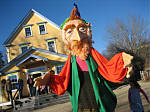 Giant puppet at South Shore Waldorf School
