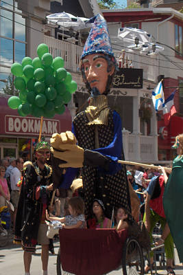 giant wizard puppet